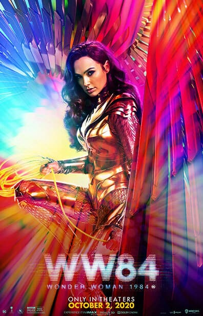 Wonder Woman 1984 poster image