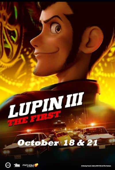 Lupin III: The First poster image