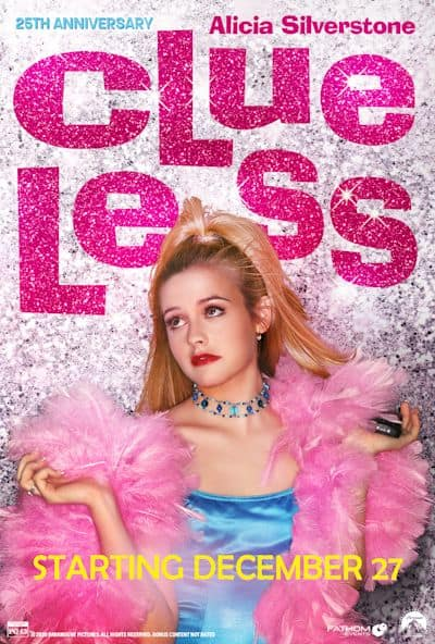 Clueless 25th Anniversary poster image
